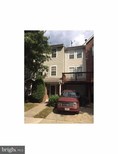 Bowie Townhouse Under Contract: 4645 Deepwood Court #100D
