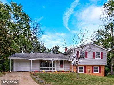 Temple Hills Single Family Home For Sale: 4214 Carriage Drive