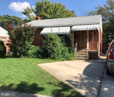 Hyattsville Single Family Home Under Contract: 6702 Stockton Lane