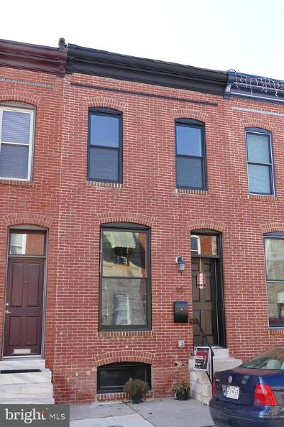Baltimore City Townhouse For Sale: 10 Curley Street N