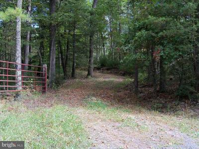 Basye Residential Lots & Land For Sale: Crooked Run Road