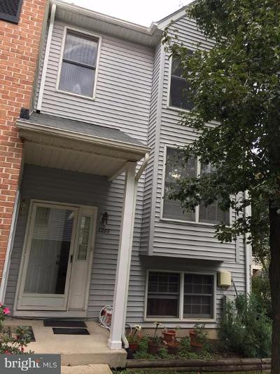 Ellicott City Townhouse Active Under Contract: 3266 Springs Drive #14