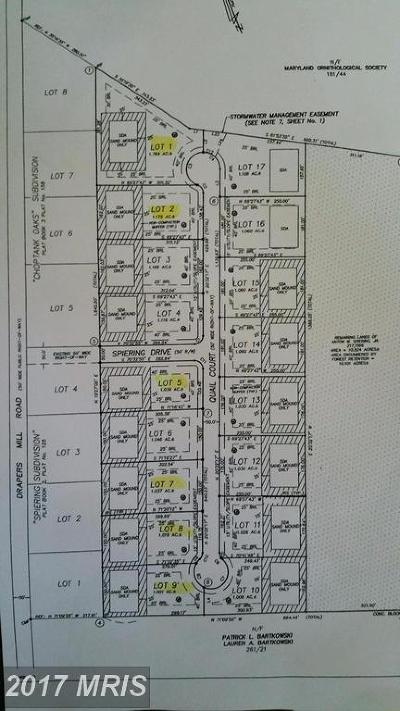 Greensboro Residential Lots & Land For Sale: Quail Court