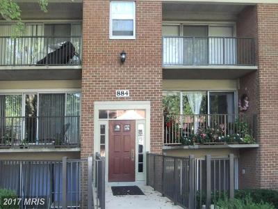 Rockville Condo For Sale: 884 College Parkway #204