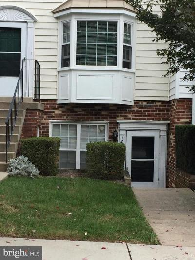 Gaithersburg Townhouse Active Under Contract: 124 Crossbow Lane #310