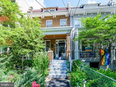 Petworth Townhouse For Sale: 611 Jefferson Street NW