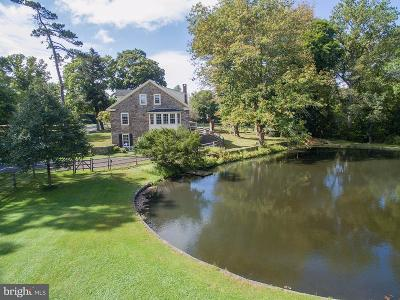 Bucks County Single Family Home For Sale: 4782 Cold Spring Creamery Road