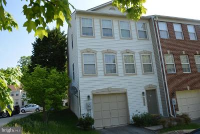 Burtonsville Townhouse For Sale: 3900 Cotton Tree Lane