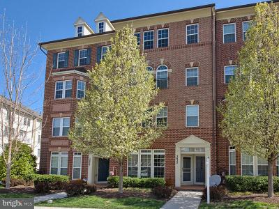 Frederick Townhouse For Sale: 3633 Springhollow Lane