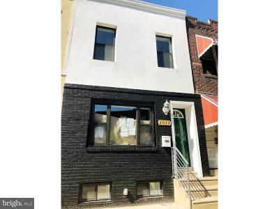 Point Breeze Townhouse For Sale: 2033 Oakford Street