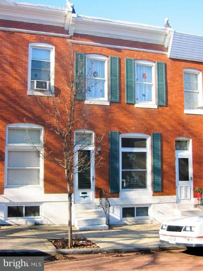 Baltimore City Rental For Rent: 114 Rochester Place