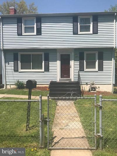 Bladensburg Single Family Home For Sale: 5312 Taylor Street