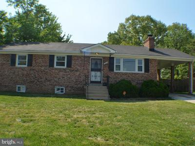 Fort Washington MD Single Family Home For Sale: $334,990