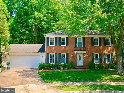Springfield Single Family Home For Sale: 8409 Finlay Court