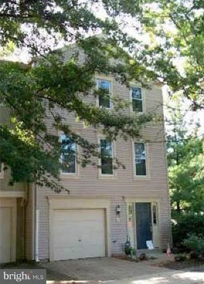 Alexandria City, Arlington County Townhouse For Sale: 3 Fendall Avenue