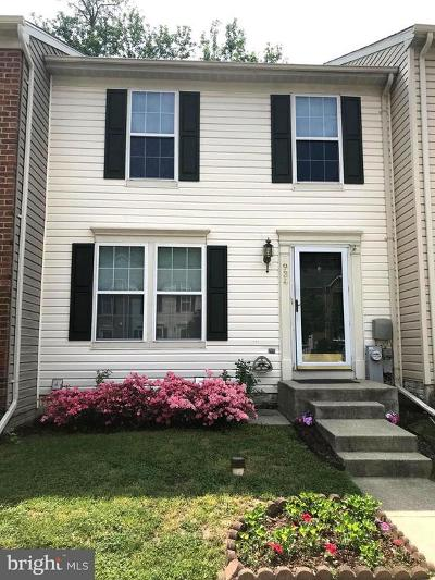 Chestnut Hill Cove MD Townhouse For Sale: $248,388