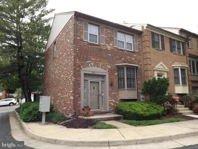 Alexandria Townhouse For Sale: 3801 Usher Court