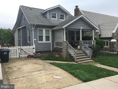 Hyattsville Single Family Home Active Under Contract: 4907 42nd Place