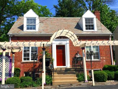 Chevy Chase Single Family Home For Sale: 4231 East West Highway