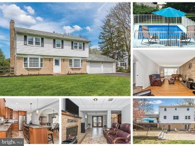 Ellicott City Single Family Home For Sale: 4653 South Leisure Court