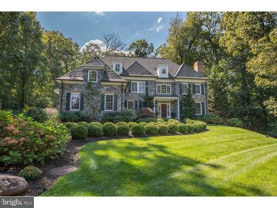 Bryn Mawr Single Family Home For Sale: 810 Mill Road