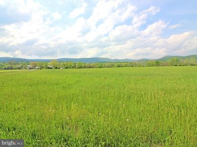 Shenandoah County Residential Lots & Land For Sale: Alum Springs Road