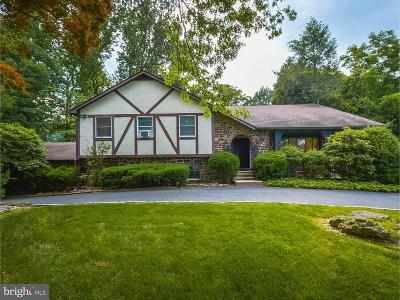 Huntingdon Valley Single Family Home For Sale: 1341 Mettler Road