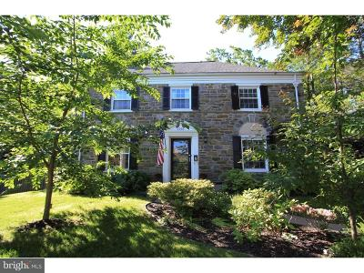 Wynnewood PA Single Family Home For Sale: $560,000