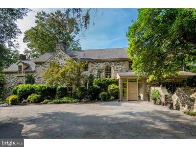 Wynnewood PA Single Family Home For Sale: $1,195,000