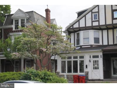 Norristown Single Family Home For Sale: 556 Hamilton Street