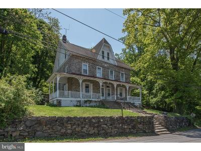 Aston Single Family Home For Sale: 688 Mount Road