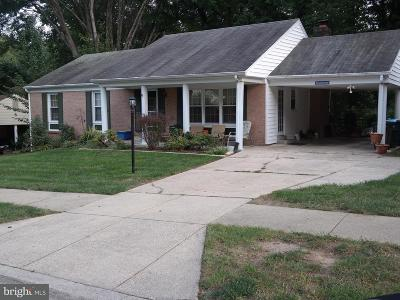 Marlton, Marlton South, Marlton Town, Marlton Town Center Single Family Home For Sale: 12221 Old Colony Drive