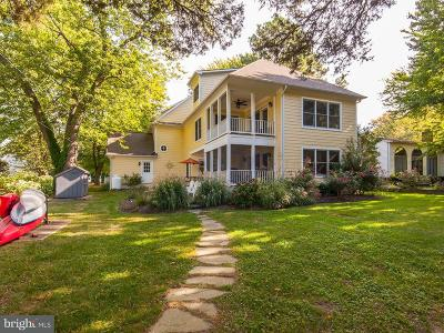 Saint Michaels Single Family Home For Sale: 706 Riverview Terrace