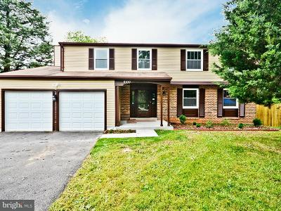 Gaithersburg Single Family Home For Sale: 8100 Irwell Court