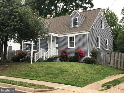 Arlington Single Family Home Active Under Contract: 2213 Culpeper Street