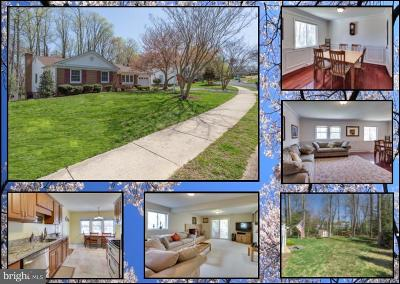 Fairfax Single Family Home For Sale: 10834 Broadwater Drive