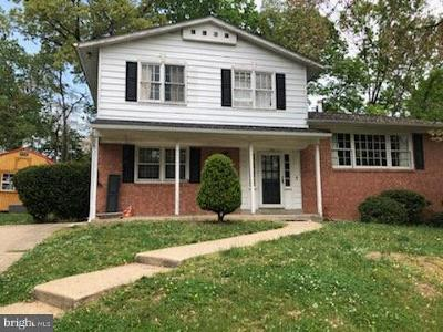 Silver Spring MD Single Family Home For Sale: $360,000