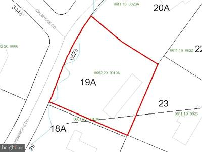 Falls Church Residential Lots & Land For Sale: 6523 Crosswoods Drive