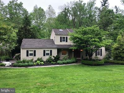 Newtown Square Single Family Home For Sale: 201 Hansell Road