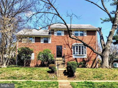Bethesda Single Family Home For Sale: 9901 Marquette Drive