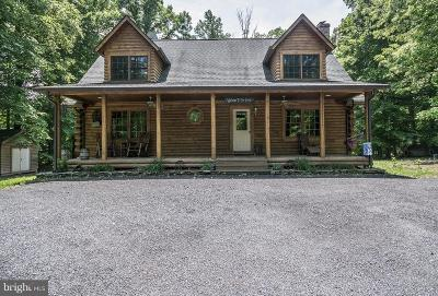 King George County Single Family Home For Sale: 11018 Lambs Creek Church Road