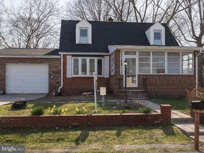 Suitland Single Family Home For Sale: 4413 Reamy Drive
