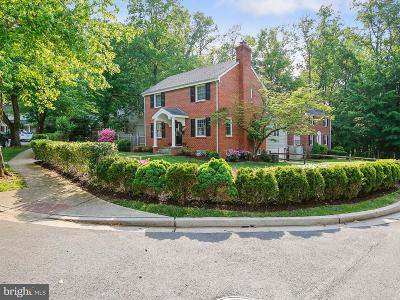 Bethesda Single Family Home For Sale: 8636 Melwood Road