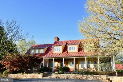 Rappahannock County Single Family Home For Sale: 4311 Sperryville Pike