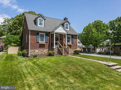 Baltimore Single Family Home For Sale: 2508 Taylor Avenue