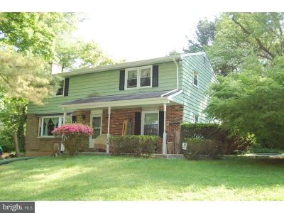 Chadds Ford Single Family Home For Sale: 18 Murphy Road