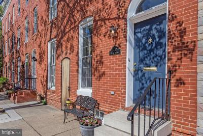 Baltimore Townhouse For Sale: 1437 Riverside Avenue