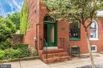 Frederick Townhouse For Sale: 232 Patrick Street E