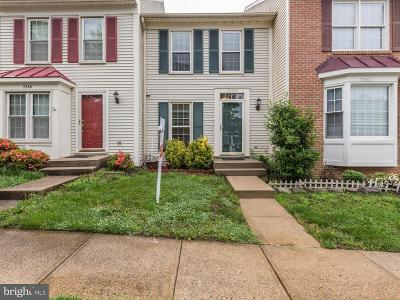 Springfield Townhouse For Sale: 7664 Northern Oaks Court