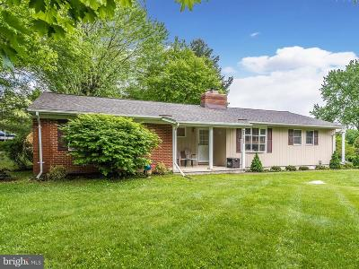 Sykesville Single Family Home For Sale: 2125 Carroll Dale Road